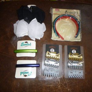 Vintage Hair Accessories Bands, Bows, Clips - New